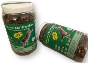 Mangime secco di Nuova Fattoria adatto a gatti sterilizzati