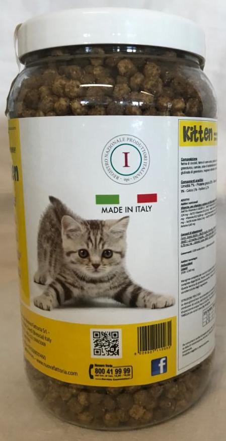 Mangime secco per cuccioli di gatto